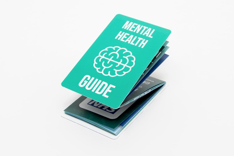 Z Card 10x3 Mental Health Guide Z-fold Card